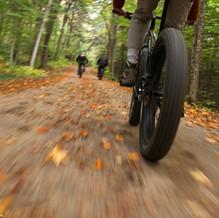 On the Fatbike, Newcomb, Adirondacks, USA