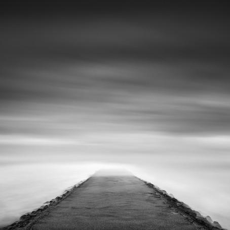Road to Nowhere, Verdronken Zwarte Polder, Zeeuws-Vlaanderen, Netherlands, 2020