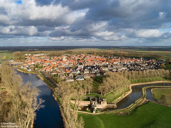 Sluis van boven, Zeeuws-Vlaanderen, Nederland