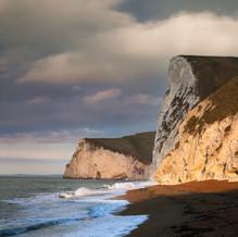 Sunrise, Swyre Head and Bat's Head, Jurassic Coast, Dorset, England