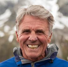 Smiling Peter Habeler, Alpinist, Zillertal, Tyrol, Austria