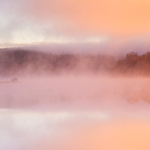 Misty Morning, Lake Harris, Adirondacks, USA