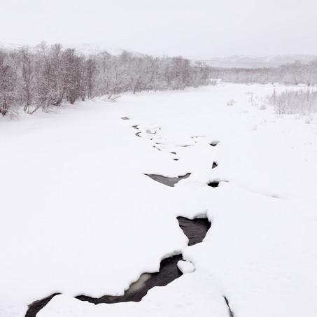 Stream, Miehkalroggi, Utsjoki, Lapland, Finland