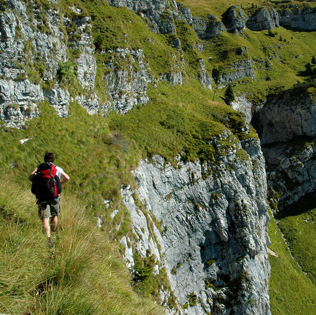 The Path of the Monk, Parco Nazionale Dolomiti Bellunesi, Dolomites, Italy