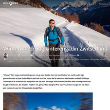 Unterengadin, Zwitserland, Reishonger