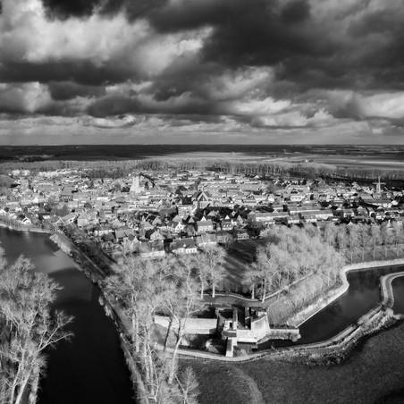 Zeeland from above, Villages