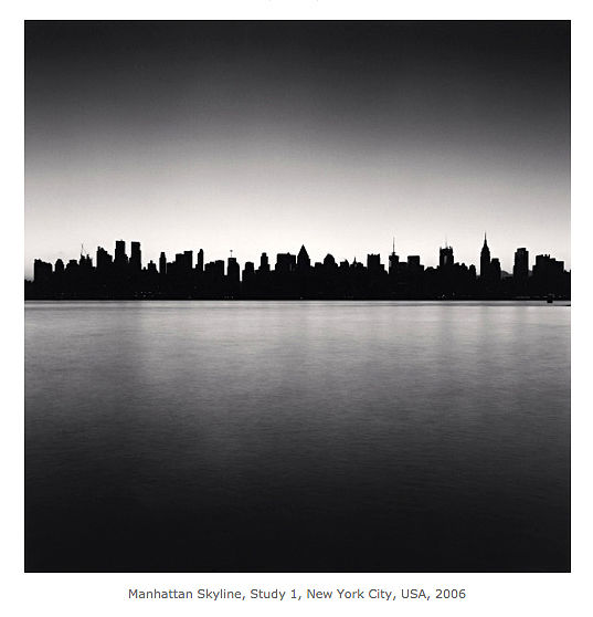 Michael Kenna, skyline Manhatten, Minima