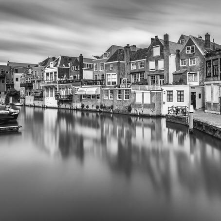 Wijnhaven with Grote Appelsteiger, Dordrecht, The Netherlands, 2016