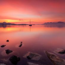 Red Morning, Port de Pollença, Mallorca, Spain, 2013