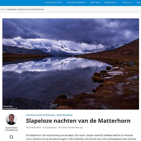 Matterhorn, Fotoblogger