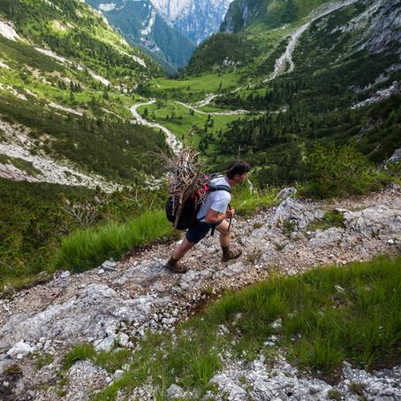 Heavy Loaded, Parco Nazionale delle Dolomiti Bellunesi, Belluno, Dolomites, Italy