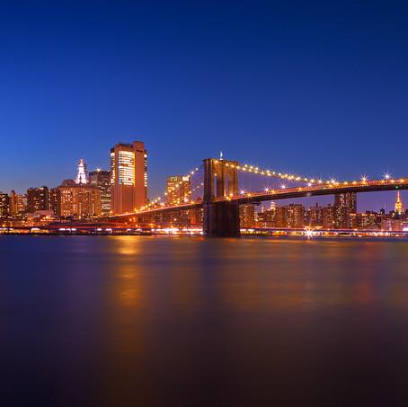 Panorama Skyline New York, USA
