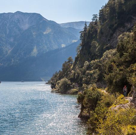 Along the Achensee, Tyrol, Austria