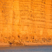 Collapsed Cliff, West Bay Cliffs, Jurassic Coast, England