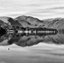 English Reflection, Ullswater, Lake District, England, 2013
