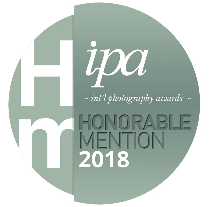 Honorable Mention in International Photography Awards
