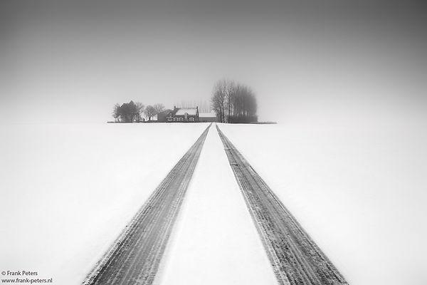 Zeeuws-Vlaanderen in de sneeuw
