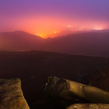 Dawn, Higger Tor, Peak District, England