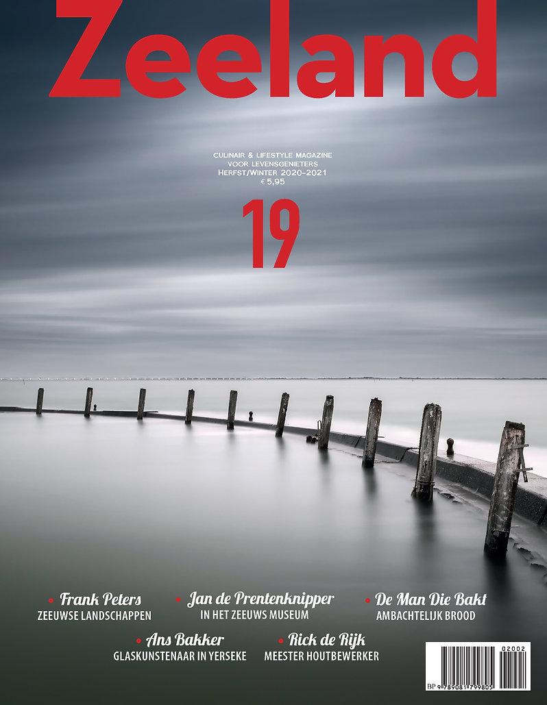 Cover, voorpagina, Zeeland Glossy Magazi