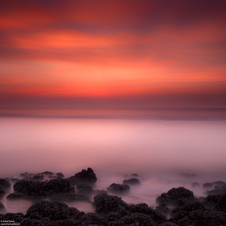 Sunset, Groede aan Zee, Zeeuws-Vlaanderen, The Netherlands
