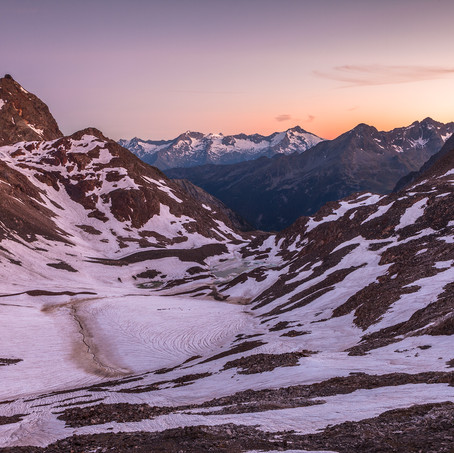 View on Zillertal, Rieserfernergruppe, Antholz Valley, Italy