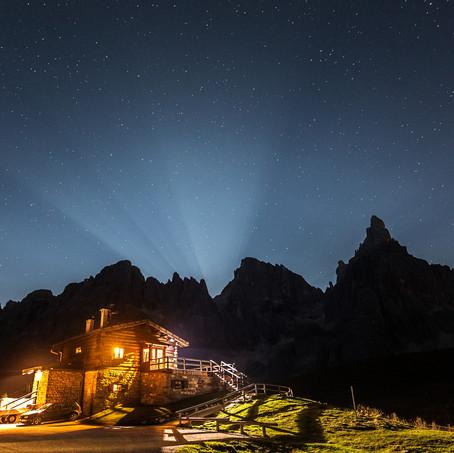 Moonrise, Pale di San Martino, Dolomites, Italy