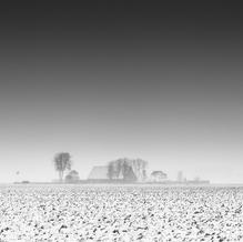 Farm in Blizzard, Zeeuws-Vlaanderen, Netherlands, 2021