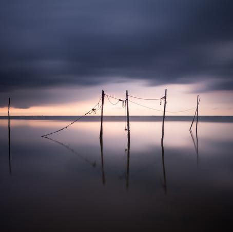 Fishing Light, Afsluitdijk, Noord-Holland, The Netherlands
