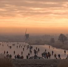 Like Breughel, Kinderdijk, South Holland, The Netherlands