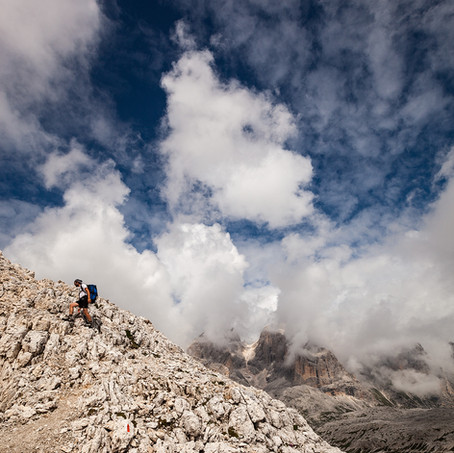 Tim on the Rocks, Pale di San Martino, Belluno, Italy