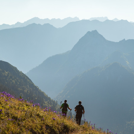 Mountaineers, Pyrenees, France