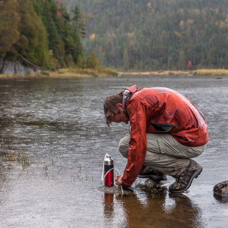 Waters, Flowed Land, High Peaks, Adirondacks, USA