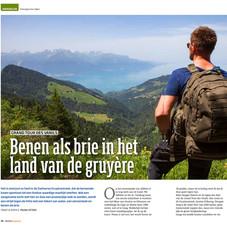 Benen als Brie in het land van de Gruyère, Bergen Magazine