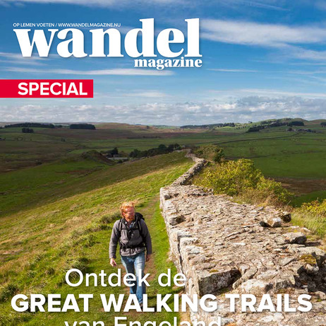 Cover Wandel Magazine, Great Walking Trails