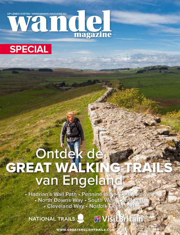 Photos Hadrian's Wall published in Wandel Magazine