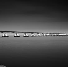 Zeeland Bridge, Zeeland, Netherlands, 2020