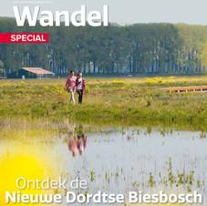 Nieuwe Dordtse Biesbosch, Voorpagina Wandel Magazine