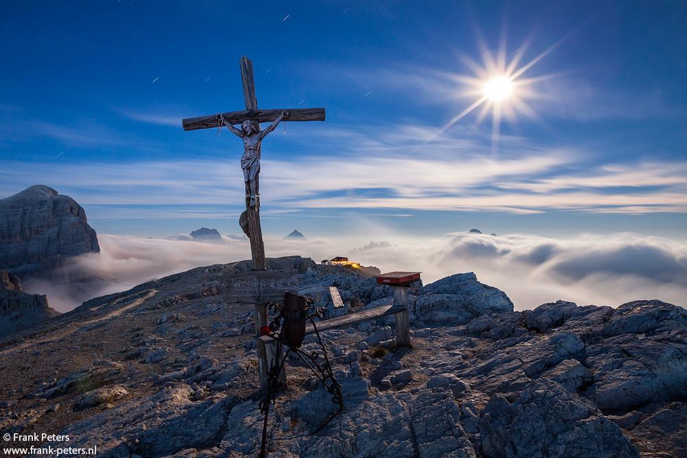 Lagazuoi at Night, Dolomites
