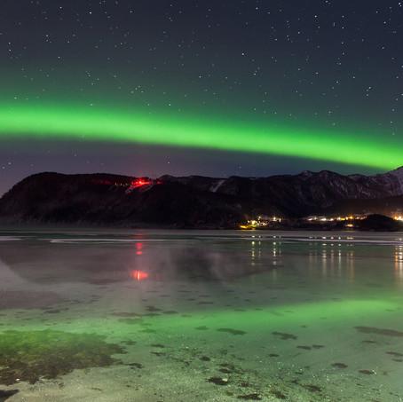 Green Rainbow, Northern Lights, Norway