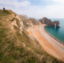 Walk through Time, Durdle Door, Jurassic Coast, England