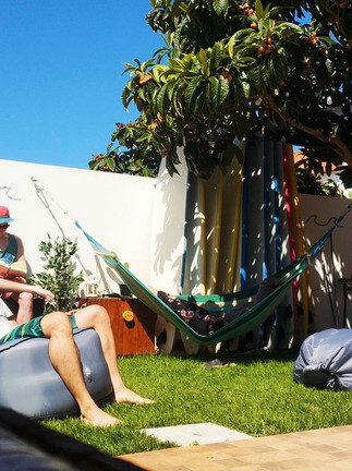 Enjoy every moment in our sunny backyard