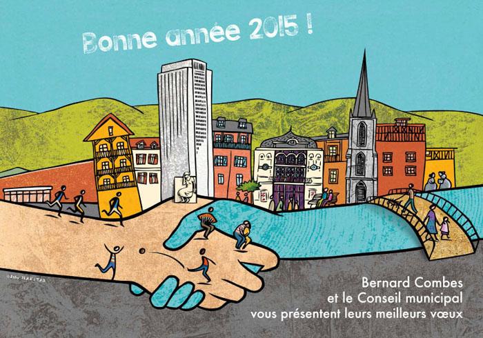 Vœux Ville de Tulle 2015