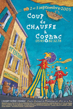 Affiche Festival Cognac 2005