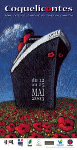 Affiche Coqueliconte 2003