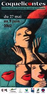 Affiche Coqueliconte 2002