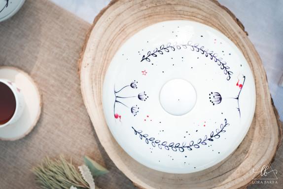 Porcelaine Bougeoir
