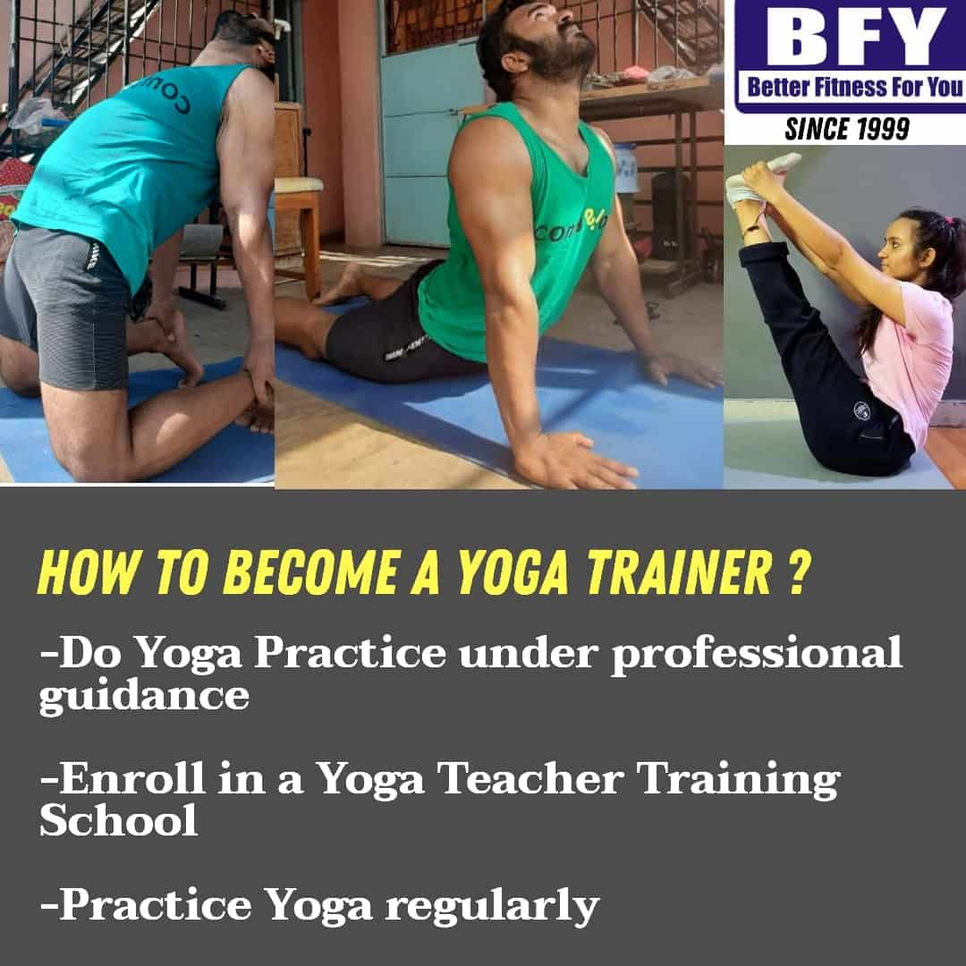 How to become Yoga Trainer