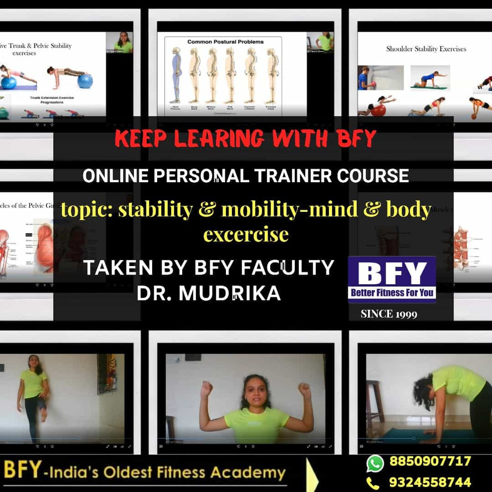 Personal Trainer course
