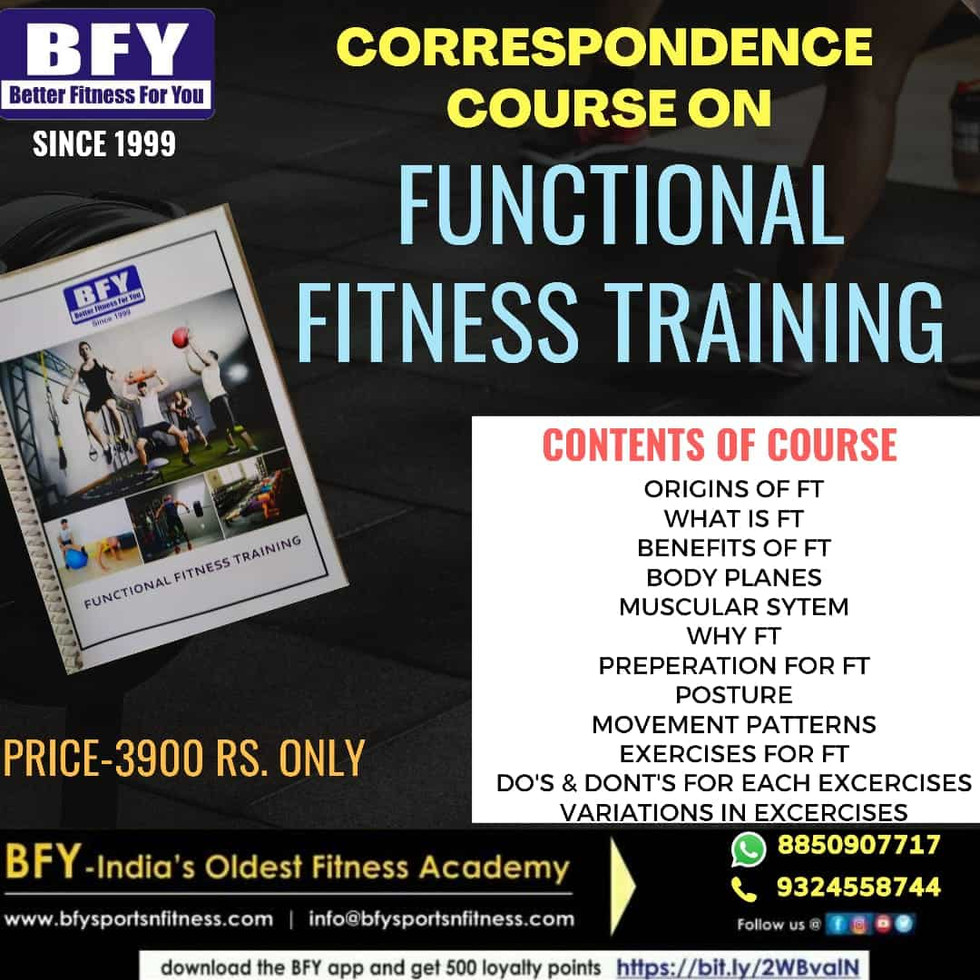 functional fitness trainer-