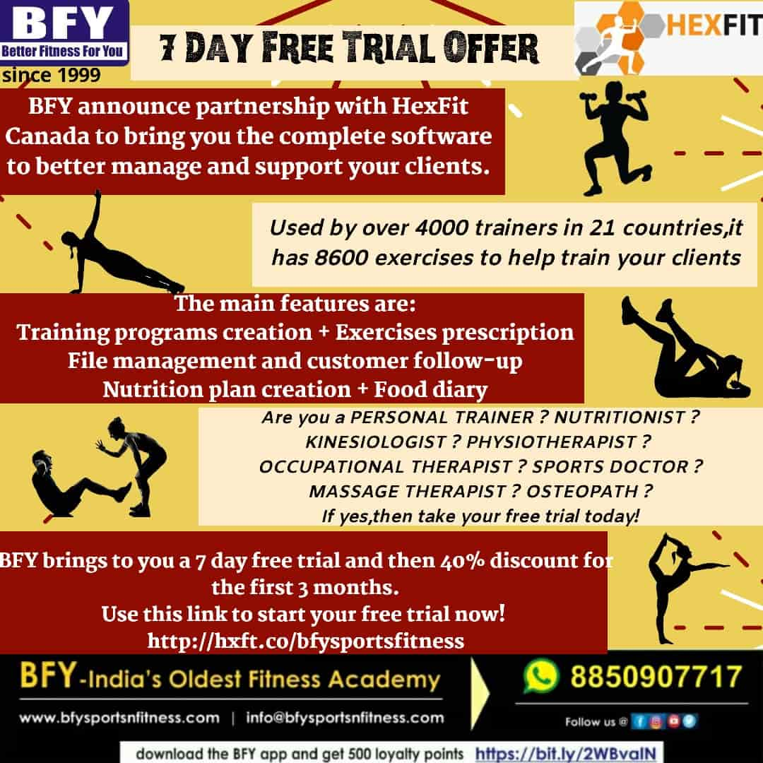 7 days free trial offer